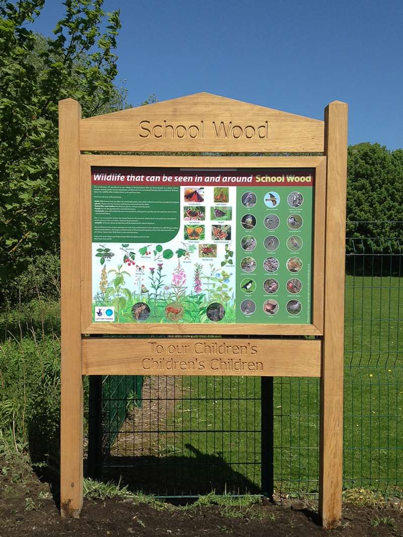 Wooden Signs Amp Interpretation Panels Nature Sign Design