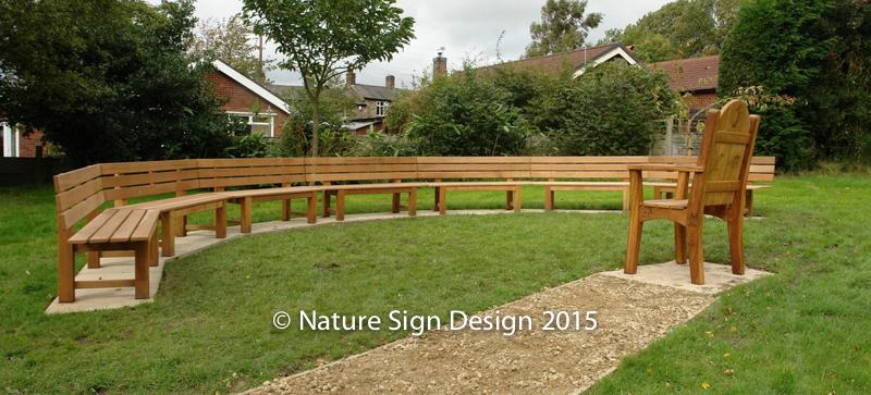 Handmade wooden garden benches made from fsc timber - Handmade wooden garden benches ...