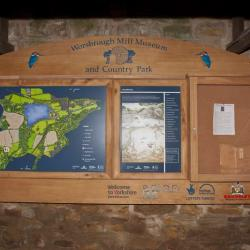 fsc oak lockable cabinet and sign