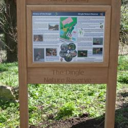fsc oak framed sign