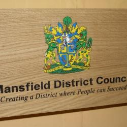 mansfield district council sign