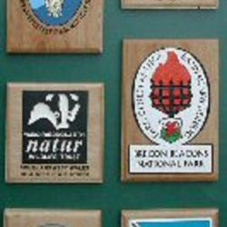wooden wall mounted signs