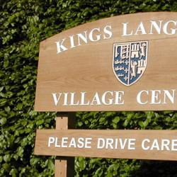 kings langley wooden signage