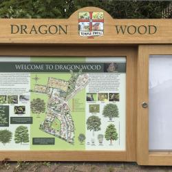 oak notice boards