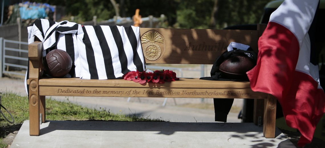 oak memorial bench