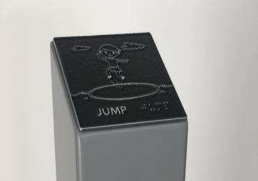 aluminium rubbing post
