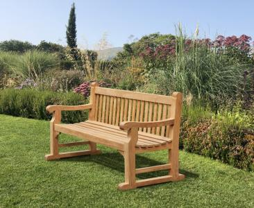 richmond hand carved memorial bench