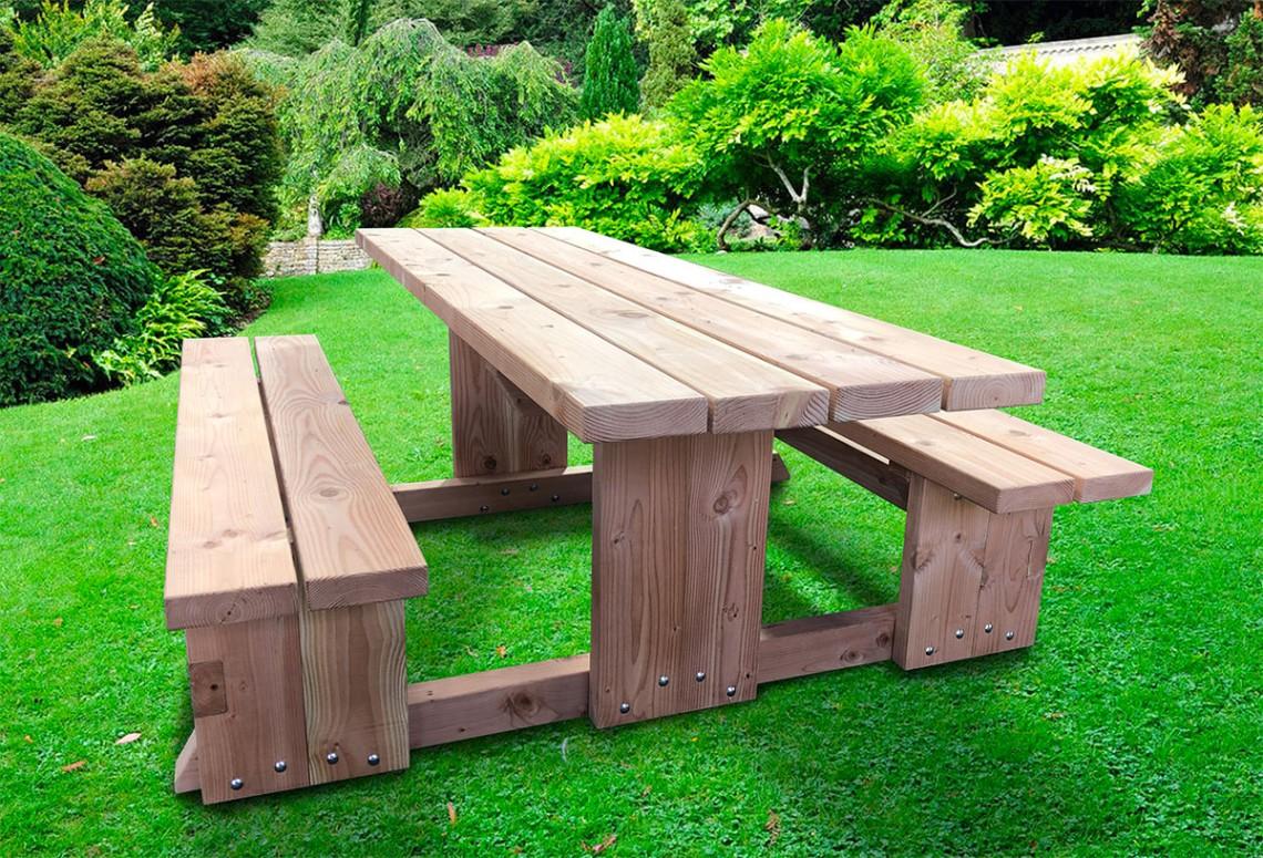 douglas fir picnic bench